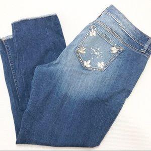 Torrid embellished Boyfriend Jeans Size 16